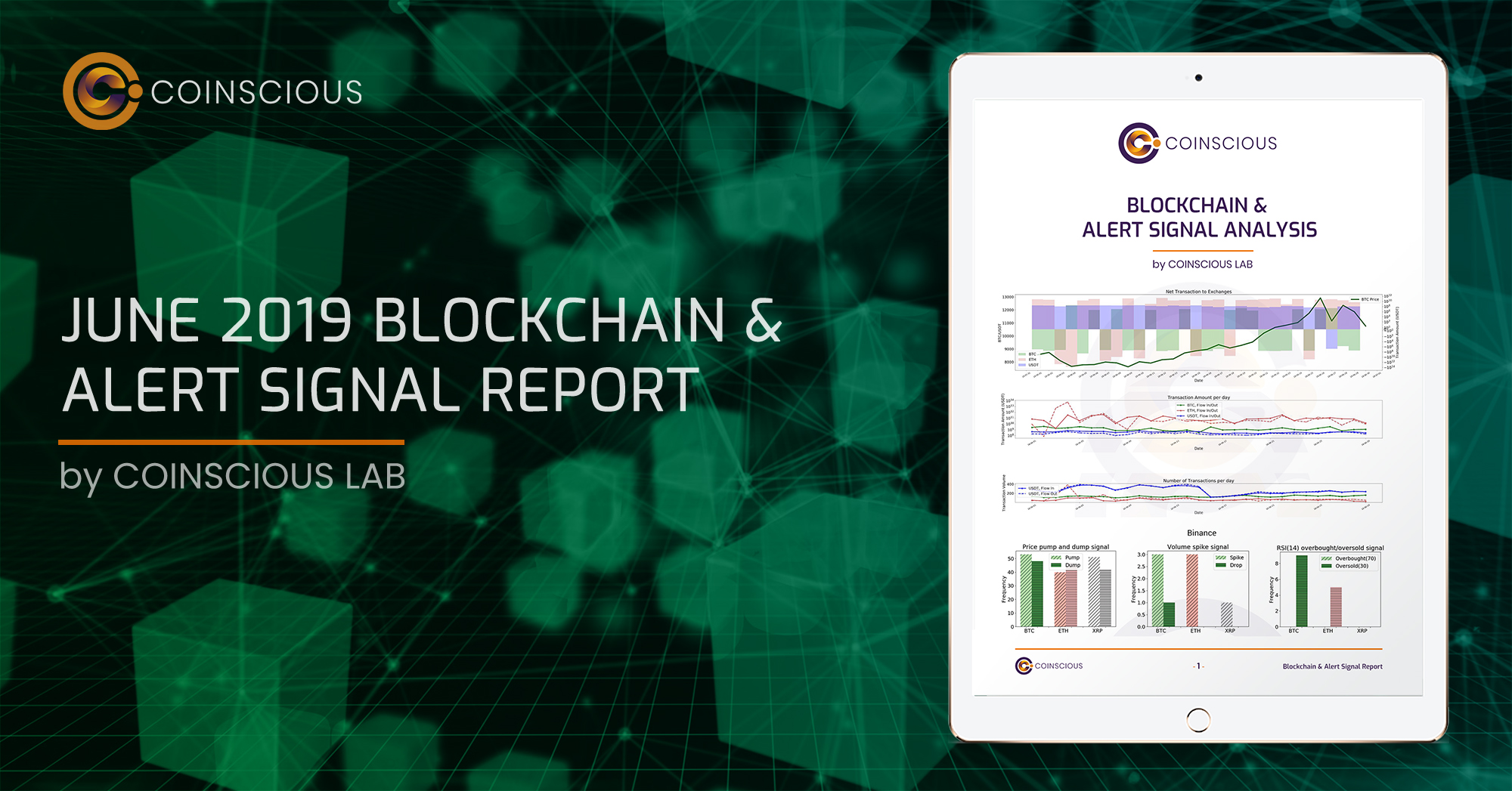 June 2019 Cryptocurrency Blockchain & Alert Signal Report