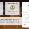 Coinscious Cryptocurrency Market Report - August 19, 2019